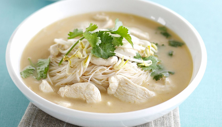 Recipe- Treat Your Mouth With Chicken Coconut Soup This Weekend