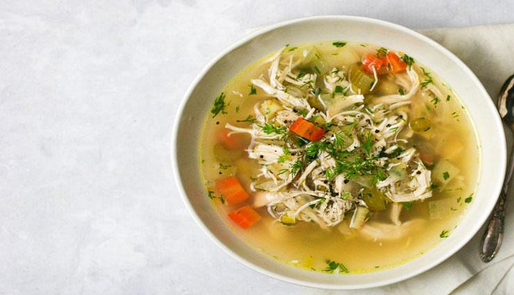 Health tips,stomach disorders,healthy soups,healthy food,home remedies ,हेल्थ टिप्स, पेट की समस्याए, हेल्थी सूप, हेल्दी फ़ूड, घरेलू नुस्खे, गाजर और अदरक का सूप, धनिए और सब्जियों का सूप, आलू, सौंफ और तेजपत्ता का सूप, कद्दू और जीरे का सूप, चिकन वेजीटेबल सूप