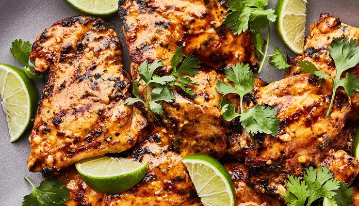 grilled chicken,chicken recipe,main course recipe,snacks recipe