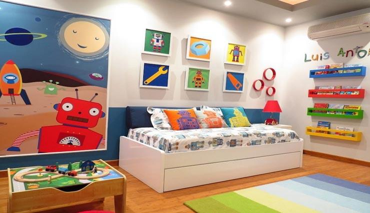 बच्चों का कमरा सजाते वक़्त रखें इन बातों का ध्यान, बनी रहेगी सुंदरता के साथ सुरक्षा
