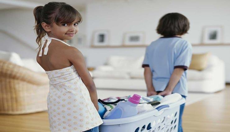 बच्चों से घर के काम करवाते समय रखें इन बातो का ध्यान, बढ़ेगा उनका आत्मविश्वास