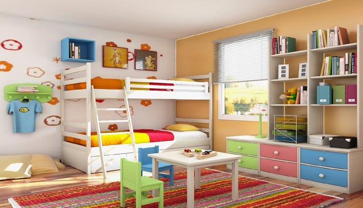 इस तरह दे बच्चो के कमरे को अलग लुक, सजाने के लिए अपनाए ये तरीके