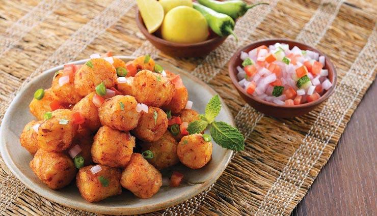 स्नैक्स में ले चिली चीज़ पोटैटो बाइट का स्वाद #Recipe