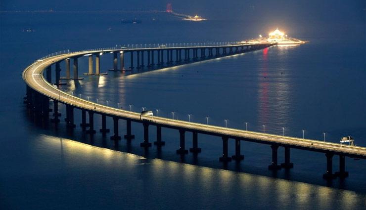 china,world longest sea bridge,mega bridge ,सी ब्रिज,चीन