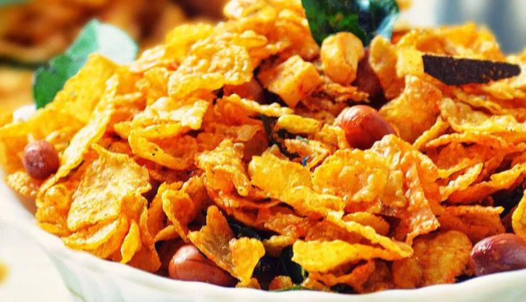 Recipe- Easy To Make Cornflakes Chivda