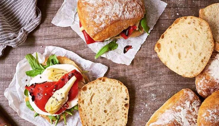 ciabatta sandwich rolls,sandwich recipe,snacks recipe,main course recipe