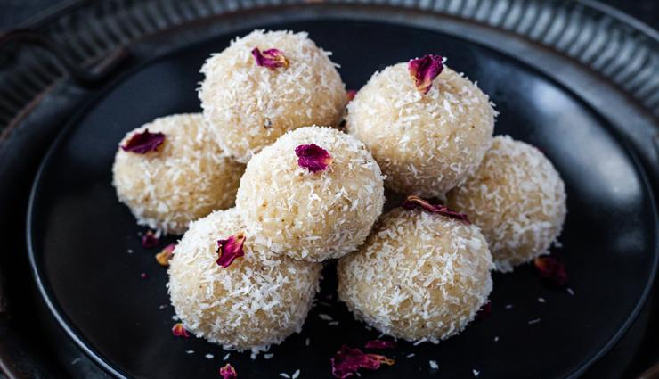 Navratri 2021 : मातारानी को लगे नारियल के लड्डू का भोग, स्वाद के साथ देता हैं सेहत #Recipe