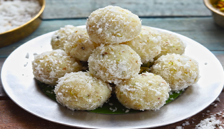 coconut laddu recipe,recipe,recipe in hindi,special recipe