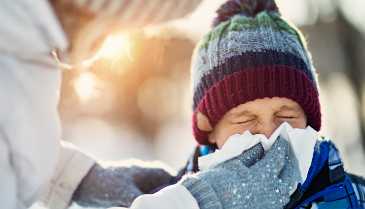 Tips To Prevent Child From Cold During Winters