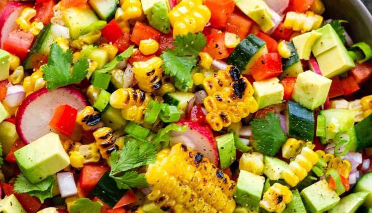 grilled corn salad,grilled corn salad recipe,hunger struck,food,easy recipe