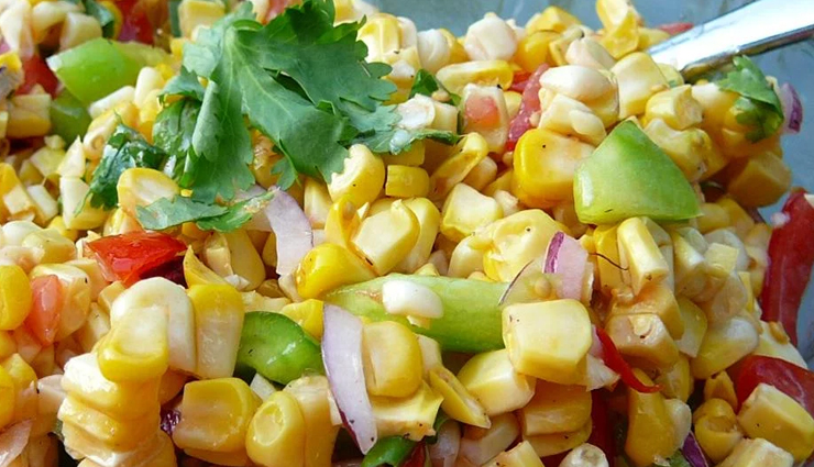 Recipe- Healthy and Delicious Grilled Corn Salad