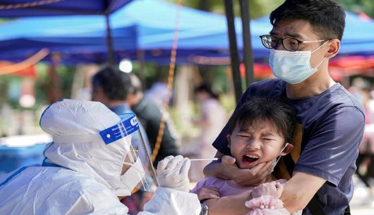 चीन में एक बार फिर पांव पसार रहा कोरोना, तीन शहरों में मिले 103 नए मामले, 59 केस डेल्टा के
