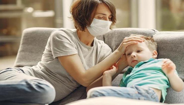 कोरोना की यह स्टडी डराने वाली, 5 साल से छोटे बच्चों में 100 गुना अधिक वायरस