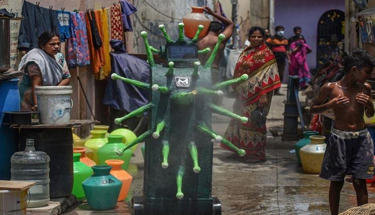आखिर क्यों उतरा चेन्नई की सड़कों पर 'कोरोना रोबोट', दिया इस काम को अंजाम
