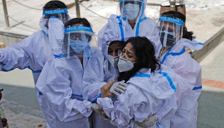 अलवर : 751 नए काेराेना संक्रमितो के साथ 22 की गई जान, एक्टिव केस का आंकड़ा 10649