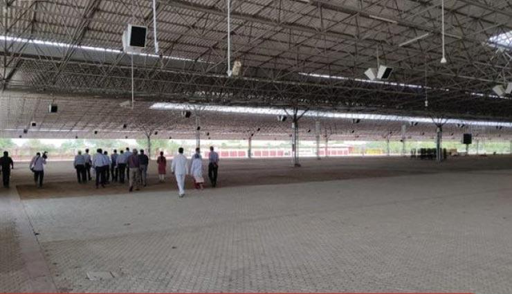 राजधानी जयपुर में बनने जा रहा 500 बेड का कोविड केयर सेंटर, रह सकेंगे बिना होम आइसोलेशन वाले मरीज