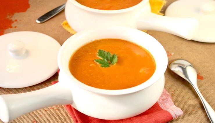 creamy tomato soup recipe,recipe,soup recipe,tomato recipe,special recipe,healthy drink recipe ,क्रीमी टोमैटो सूप रेसिपी, रेसिपी, सूप रेसिपी, स्पेशल रेसिपी, हेल्दी ड्रिंक रेसिपी