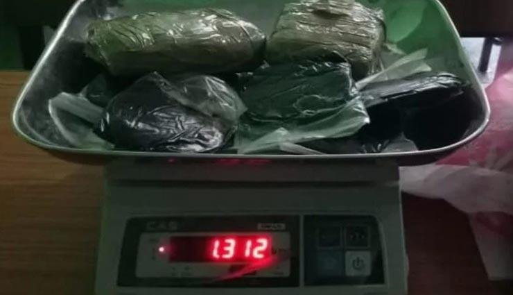हिमाचल : पुलिस को मिली बड़ी कामयाबी, ढाबे में छापा मार बरामद की एक किलो 312 ग्राम चरस