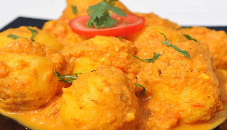 recipe punjabi dam aalu,recipe ,पंजाबी दम आलू
