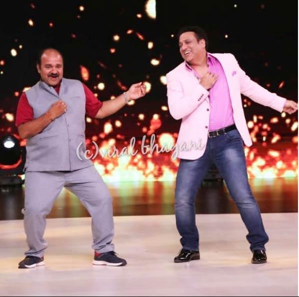 dancing uncle,sanjeev srivastav,govinda,madhuri dixit ,डांसिंग अंकल,डब्बू यानी संजीव श्रीवास्तव,गोविंदा