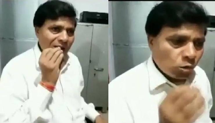 man eats glass,madhya pradesh,eat bottles and bulbs,eat glas from age of 14,dindori. dayaram sahu,weird news in hindi ,अजीबोगरीब शौक, कांच खाने वाला शख्स, डिंडोरी, मध्य प्रदेश