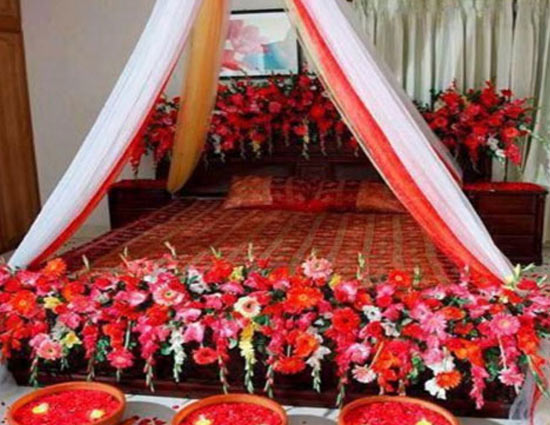 Tips to decorate wedding room for first night