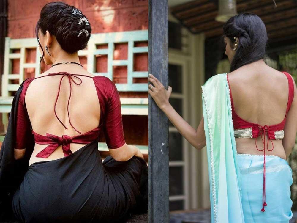 diwali 2018,dori blouse backs designs,blouse designs,backless designs,fashion tips