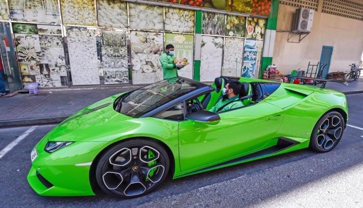 यह शख्स करोड़ों रूपये की कार लैंबोर्गिनी से करता हैं आम की डिलीवरी, चहरे पर मुस्कान ला देगी वजह