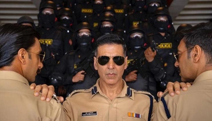 The Desi Avengers of Cop Universe- Singham,Simmba,Sooryavanshi