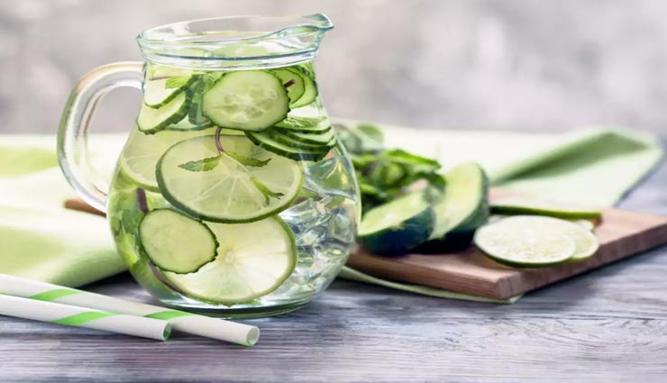 Summer Special : गर्मियों में  सेहत बनाएगा यह डिटॉक्स वॉटर #Recipe