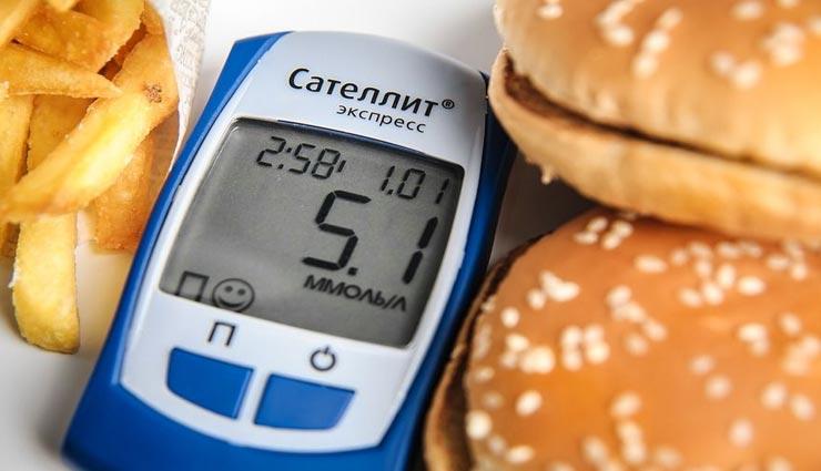 डायबिटीज के पेशेंट भी खा सकेंगे फास्टफूड, बरतनी होगी ये सावधानियाँ