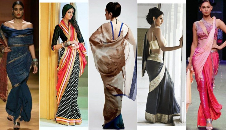 5 Trending Ways To Wear a Saree
