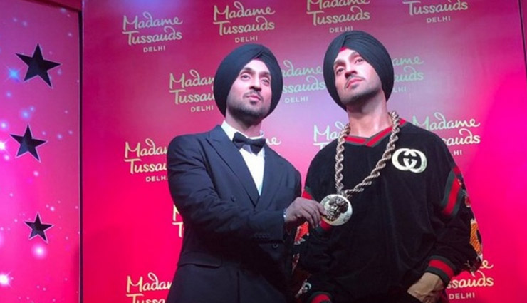 Diljit Dosanjh unveils his wax statue at Madame Tussauds Museum