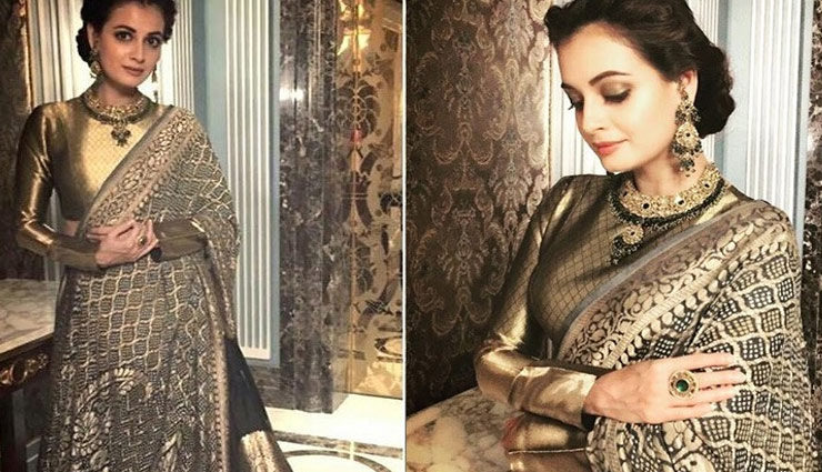 fashion tips,fashion trends,diwali special,diya fashion,celebrity fashion,diya mirza ,दिवाली स्पेशल, फैशन टिप्स, फैशन ट्रेंड्स, दिया फैशन, सेलेब्रिटी फैशन, दिया मिर्ज़ा