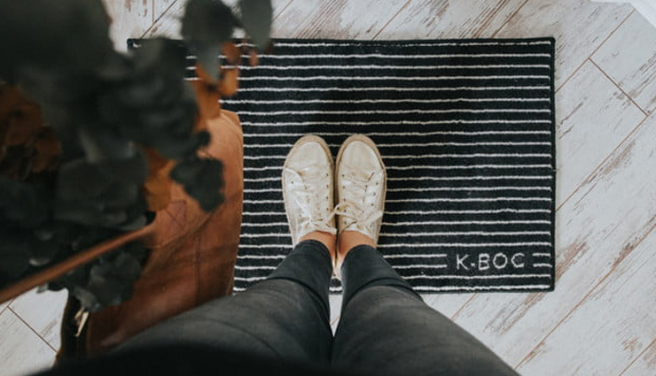 door mats cleaning tips,household tips,entrance mats cleaning tips