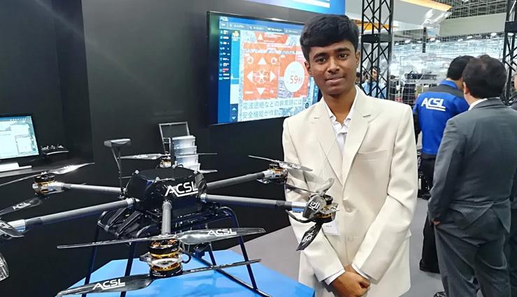 छात्र ने कचरे से बना डाले 600 ड्रोन, सोशल मीडिया पर हो रही चर्चा