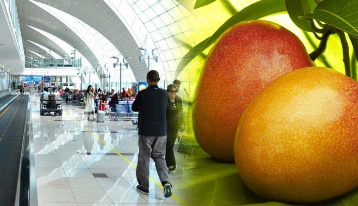 दुबई एअरपोर्ट पर ऐसा करना भारी पड़ा एक भारतीय को, 2 आम के लिए चुकाने पड़े 96000 रुपये