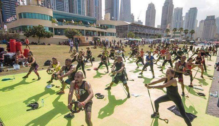 dubai fitness challenge,dubai fitness challenge 2019,dubai fitness,fitness challenge,dubai,weird news in hindi ,दुबई फिटनेस चैलेंज