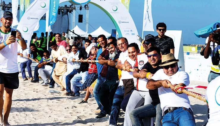 दुबई मे दुनिया का सबसे बड़ा सिटीवाइड फिटनेस चैलेंज आज से शुरू,  10 लाख से ज्यादा लोग लेंगे हिस्सा