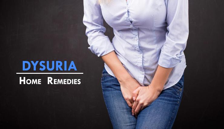 16 Remedies Effective for Dysuria