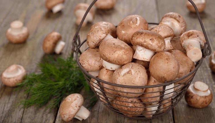 6 healthy benefits of eating mushroom,healthy benefits in hindi,mushroom healthy benefits