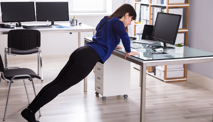 Amazing Health Benefits of Doing Simple Exercises at Work