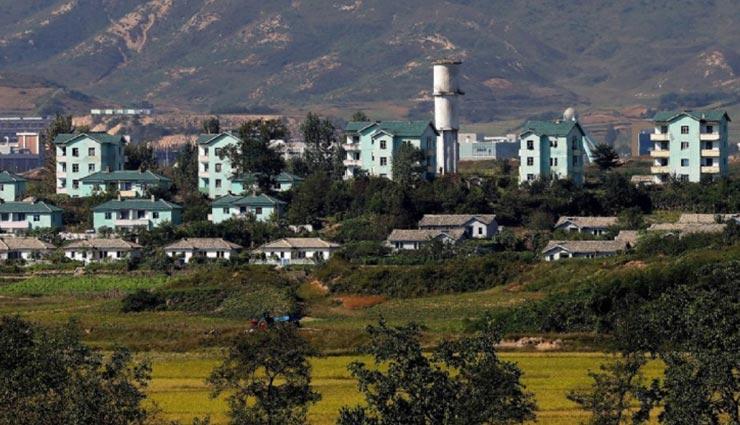 weird news,weird information,weird place,weird village,kijong dong fake city,north korea,no one is living ,अनोखी खबर, अनोखी जानकारी, अनोखी जगह, अनोखा गांव, उत्तर कोरिया, किजोंग डोंग गांव