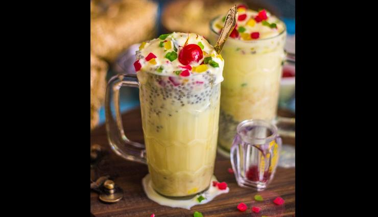 Recipe- Make Your Summer Time Delicious With Kesar Pista Falooda