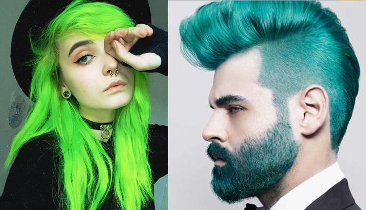 florecent green hair color,blue hair color,yellow hair color,grey hair color,graffiti hair color,fashion tips,latest fashion tips,fashion