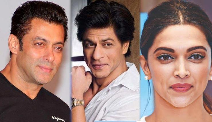 Forbes Richest Indian 2018 : टॉप पर सलमान खान, 33 प्रतिशत की गिरावट के साथ शाहरुख़ 13वीं पोजिशन पर, एक्ट्रेसेज में दीपिका टॉप पर