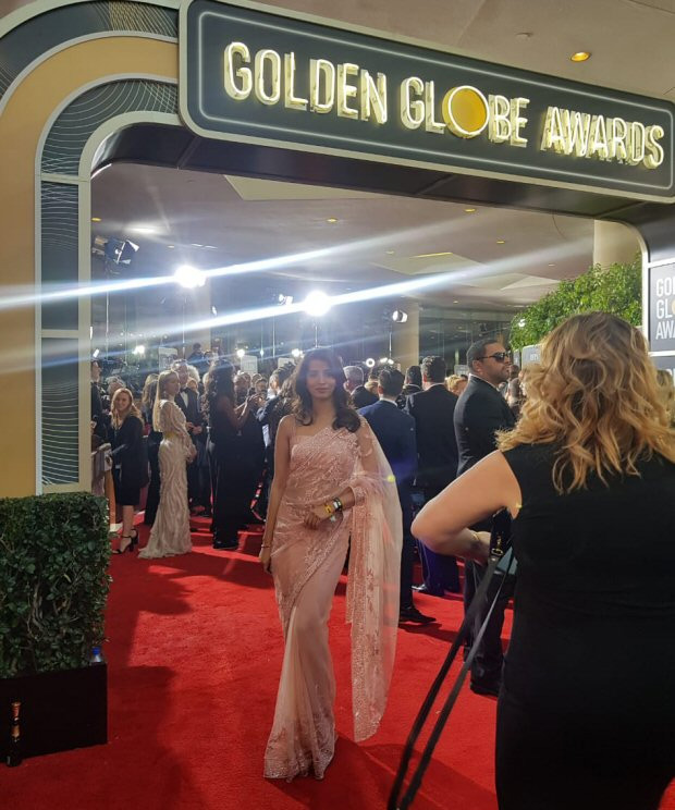 former miss india,golden globes 2019,golden globes 2019,golden globes 2019 red carpet,manasvi mamgai,entertainment news