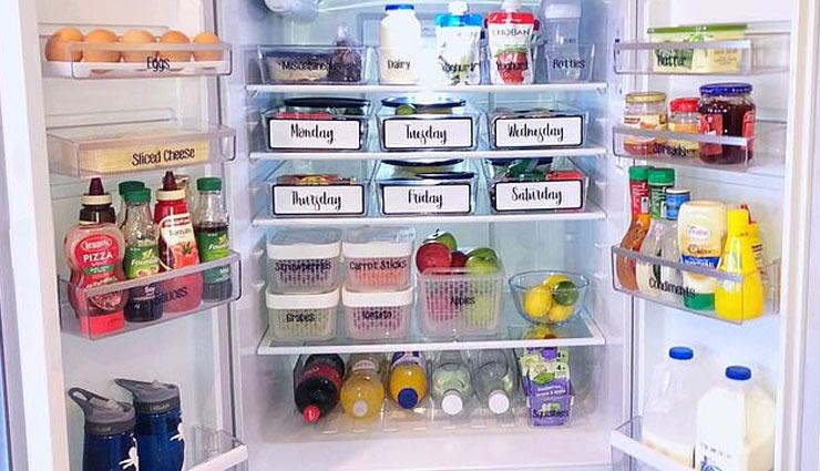इन बेहतरीन तरीकों से जमाए अपना फ्रिज, साफ़-सफाई के साथ मिलेगी जगह भी