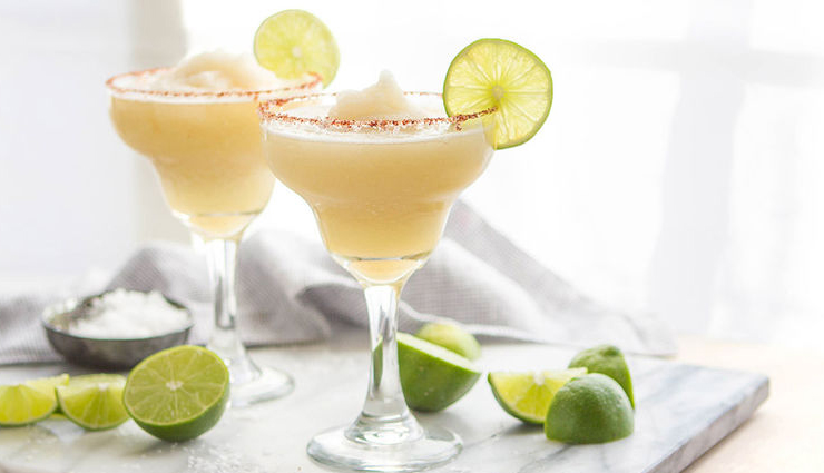 Summer Recipe- Refreshing Frozen Apple Margarita