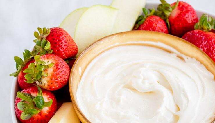Recipe- Delicious Cream Cheese Fruit Dip